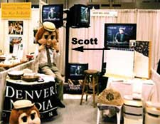 Denver Media Designs at Trade Show